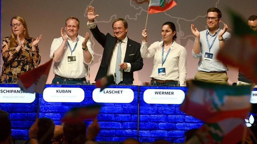 Spitzenpolitiker zu Gast: Union ringt auf JU-Deutschlandtag um Geschlossenheit