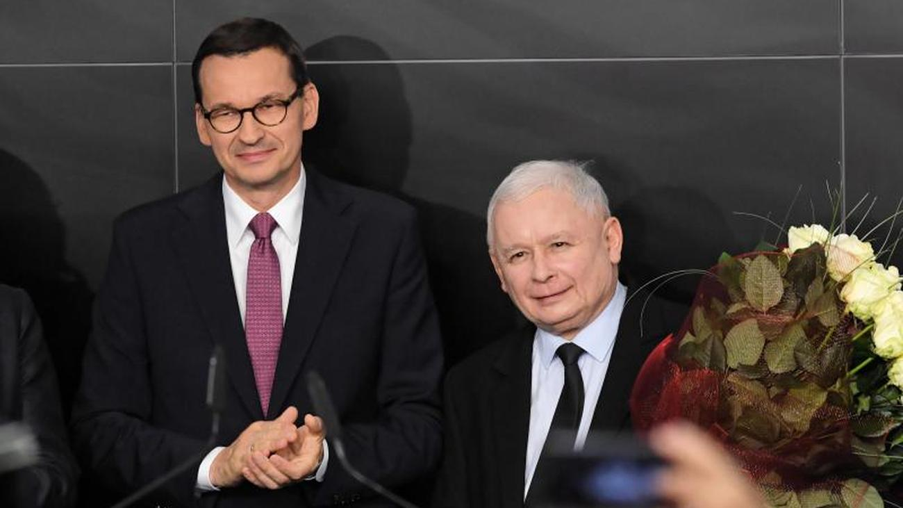 Nationalkonservative siegen: PiS nach Polen-Wahl im Aufwind - Sorge in Berlin und Brüssel