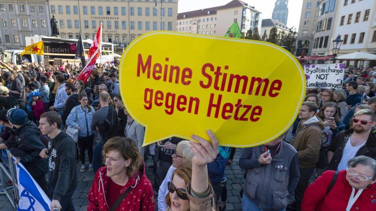 """Bündnis """"Herz statt Hetze"""": Tausende wollen in Dresden gegen Pegida demonstrieren"""