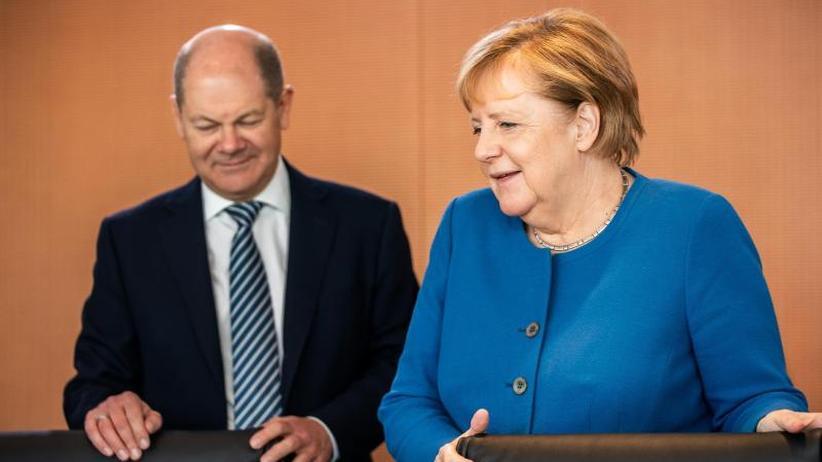 """Einigung auf Grundrente: Scholz: Wahrscheinlichkeit für GroKo-Erhalt """"gewachsen"""""""