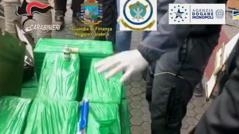 Für deutschen Markt: 250 Millionen Euro wert: Rekord-Kokain-Fund in Italien