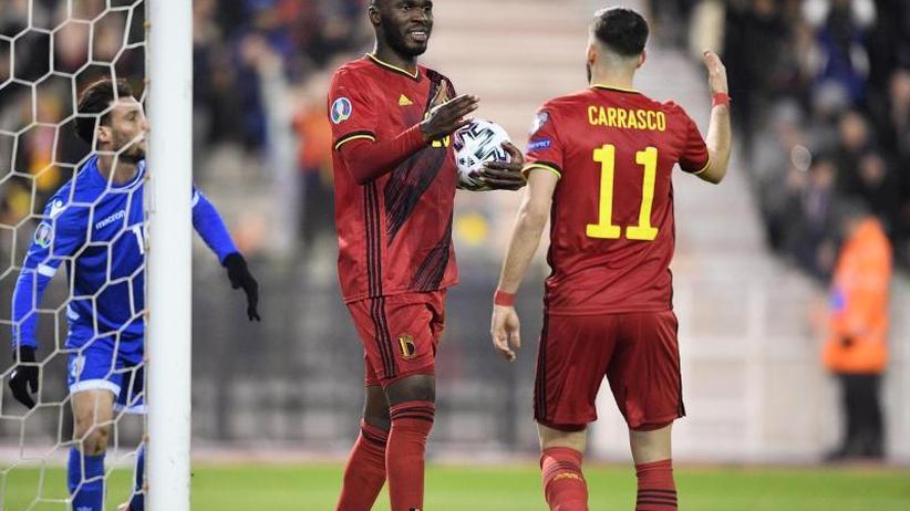 EM-Qualifikation: Belgien ohne Punktverlust - Wales 2020 dabei