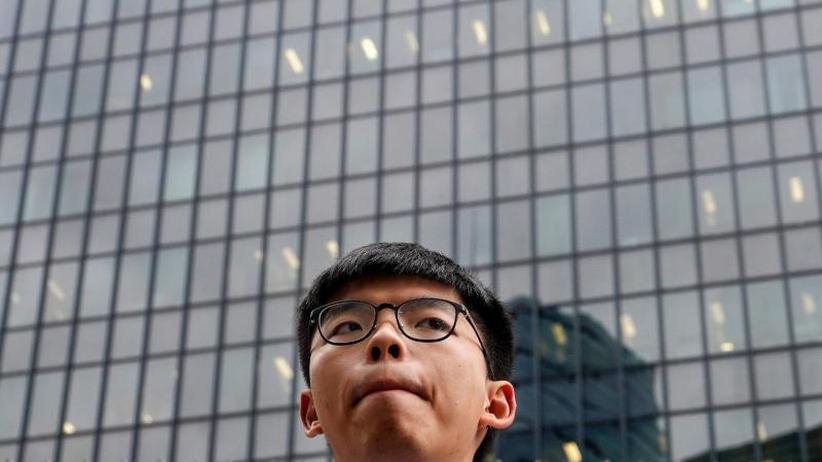 Vor Wahl der Bezirksräte: Hongkonger Aktivist Joshua Wong für gewaltlose Proteste
