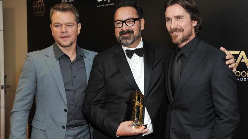 US-Schauspieler: Väter prägten Männerbild von Matt Damon und Christian Bale