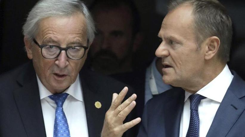 Juncker und Tusk räumen Büros: Wachwechsel in Brüssel: Die EU-Spitze verabschiedet sich
