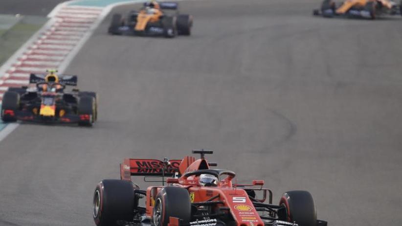 """GP von Abu Dhabi: """"Muss es besser machen"""": Vettel-Frust bei Formel-1-Finale"""