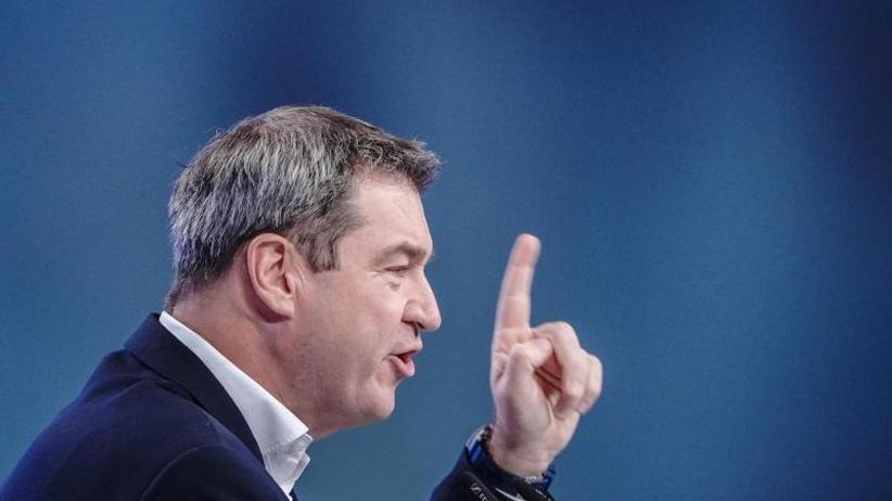 Streit über die Finanzen: CSU-Chef Söder fordert neue Föderalismuskommission