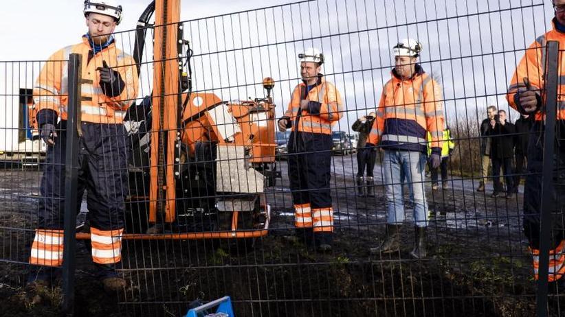 An der deutschenGrenze: Dänischer Wildschweinzaun ist fertig
