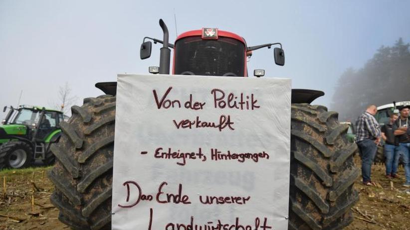 """Treffen im Kanzleramt: """"Agrargipfel"""": Merkel sichert Bauern Respekt und Gehör zu"""