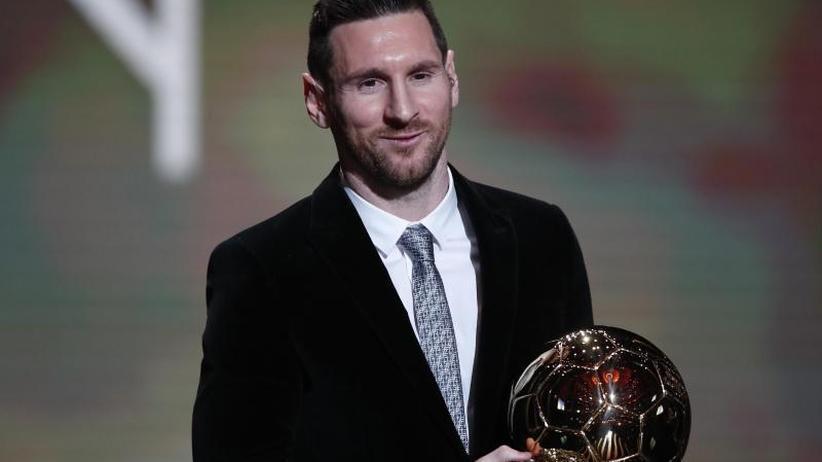 """""""France Football"""": Messi gewinnt Ballon d'Or und ist nun Rekordhalter"""