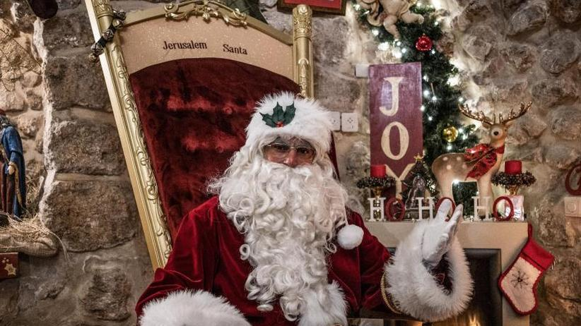Goldene Glöckchen: Weihnachtsmann mit Diplom in Jerusalem