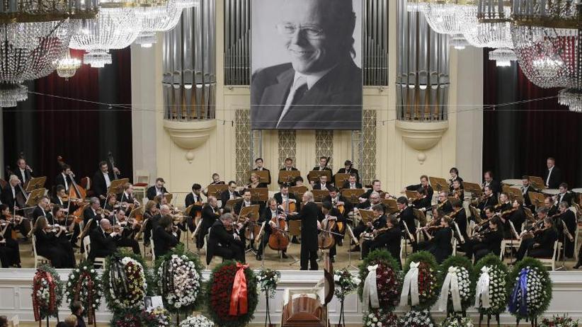 Abschied: Trauer in St. Petersburg um Stardirigent Jansons