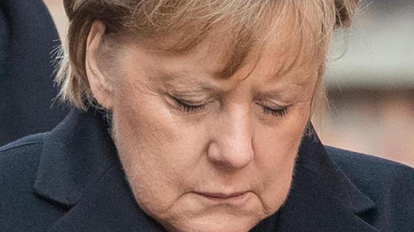 Besuch im ehemaligen KZ: Merkel warnt in Auschwitz vor Antisemitismus und Hassreden