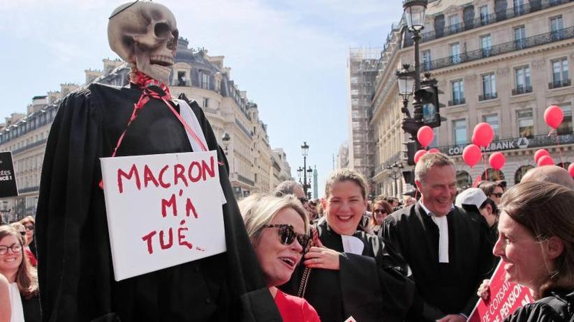 Streiks gehen weiter: Frankreichs Regierung verteidigt Rentenpläne