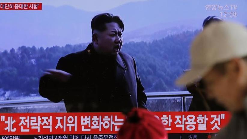 USAbetont friedliche Lösung: Nordkorea meldet bedeutenden Test auf Satellitenstartgelände