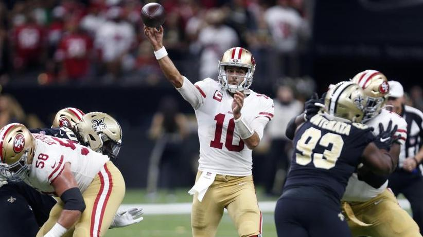 NFL: San Francisco 49ers gewinnen Spitzenspiel in letzter Minute