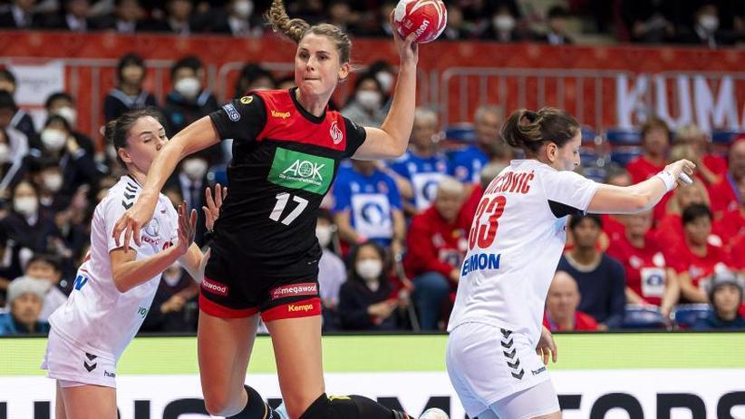 Handball-WM: Dank Schützenhilfe: DHB-Frauen erreichen erstes Etappenziel