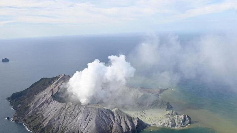 Deutsche unter den Verletzten?: Viele tote Urlauber bei Vulkanausbruch in Neuseeland