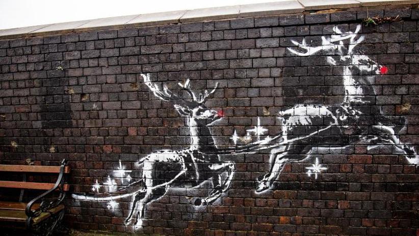 Street Art: Neues Banksy-Werk in Birmingham aufgetaucht