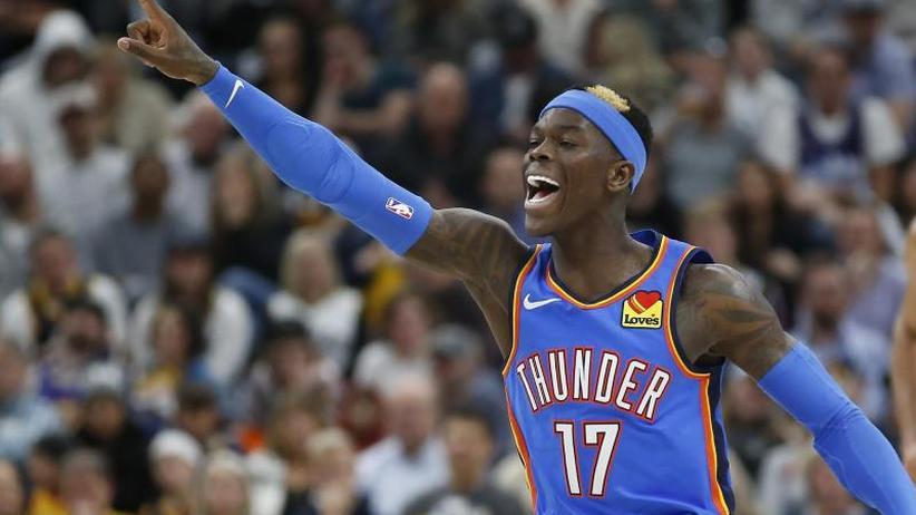 Basketball-Nordamerika-Liga: Schröder feiert mit Oklahoma dritten NBA-Sieg in Serie