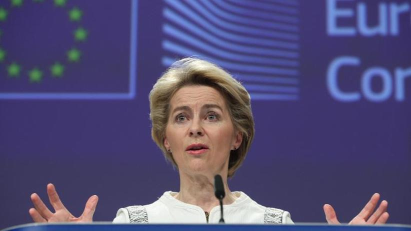 """Klimaziel der EU-Kommission: Von der Leyen vergleicht """"Green Deal"""" mit der Mondlandung"""