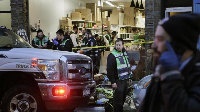 Sechs Tote: Wohl gezielter Angriff auf jüdischen Laden bei New York