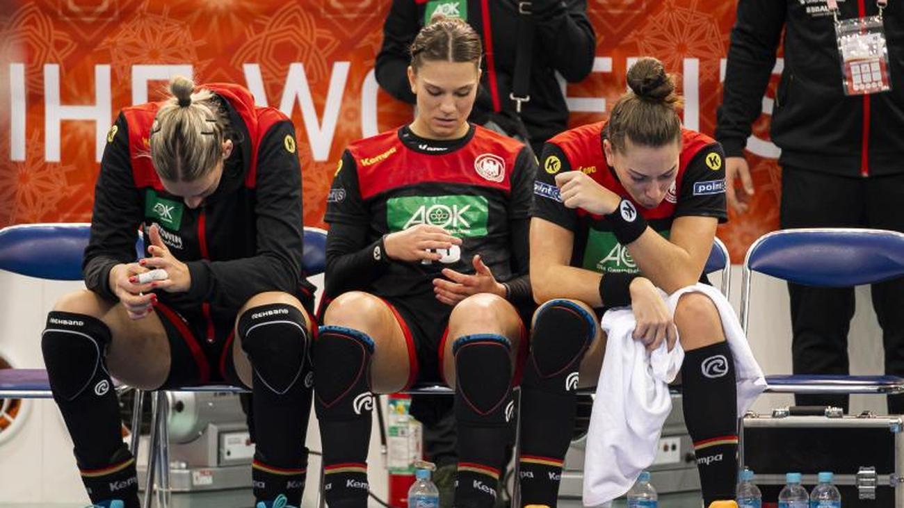 WM in Japan: Deutsche Handball-Frauen verspielen letzte Olympia-Chance