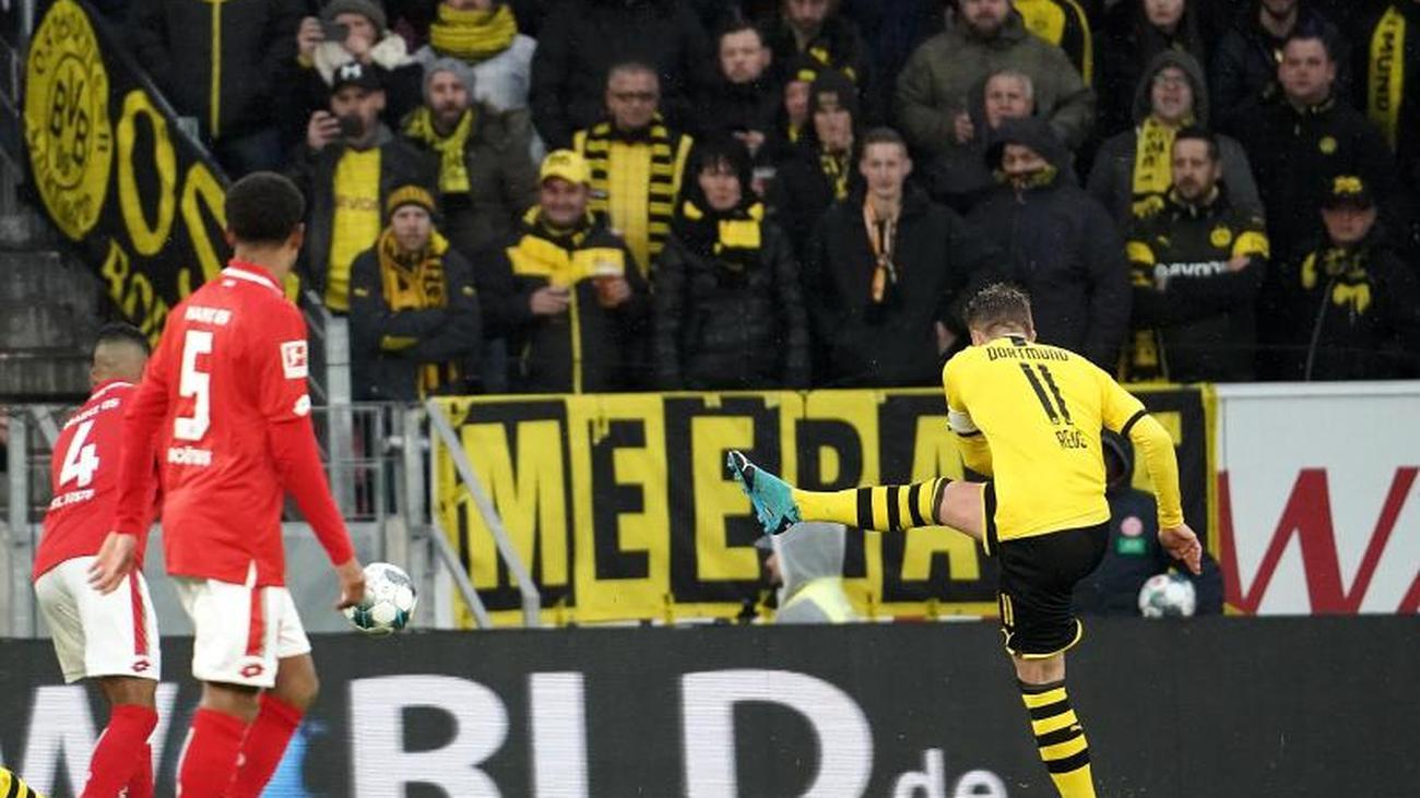 Bundesliga: Dortmunder Tore-Gala: BVB überzeugt in Mainz