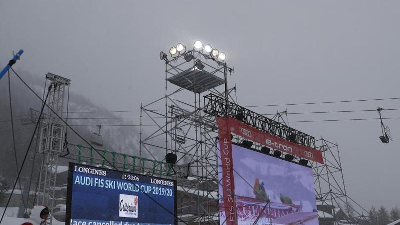 Zu viel Wind und Schnee: Weltcup-Slalom in Val d'Isère abgesagt