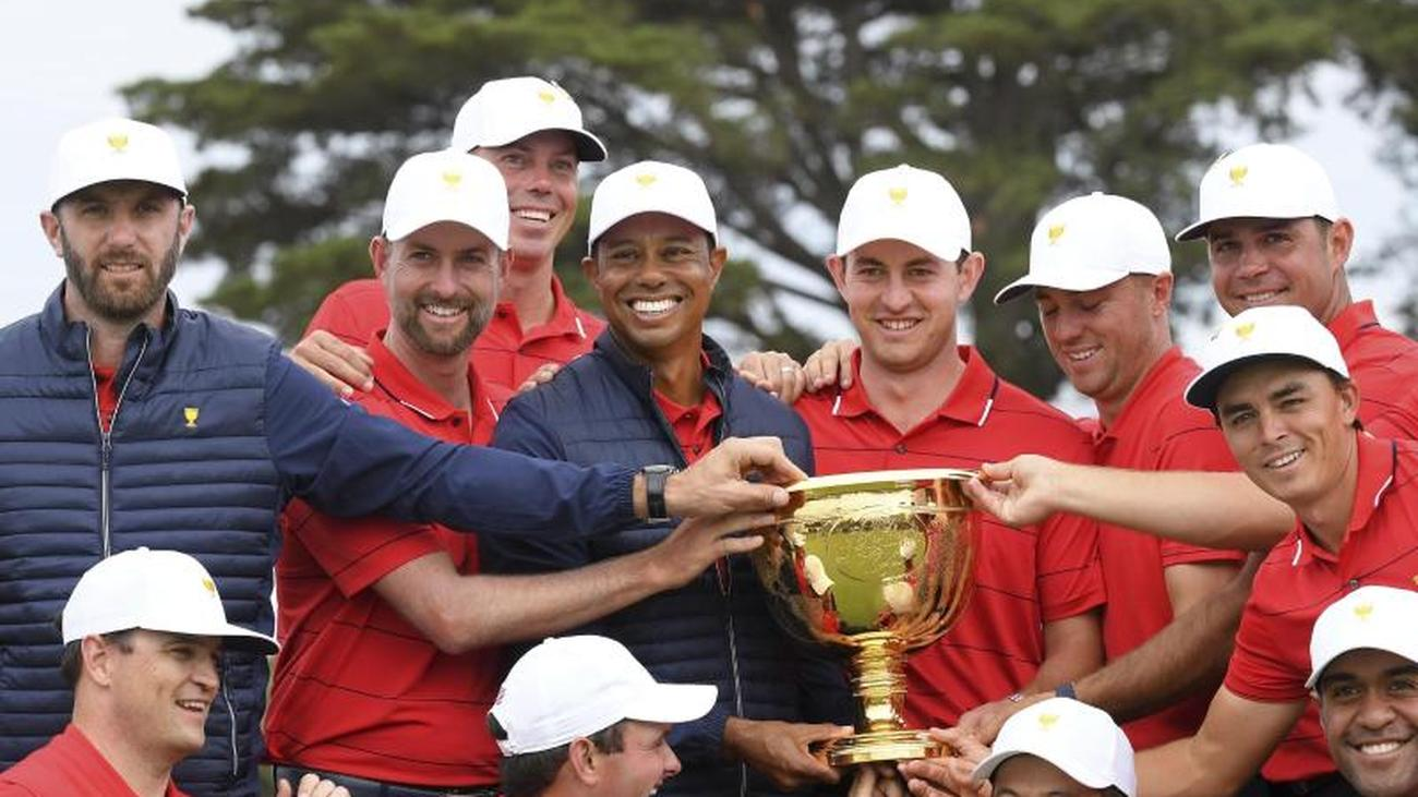 Starkes Comeback: US-Golf-Team gewinnt dank Woods 13. Presidents Cup