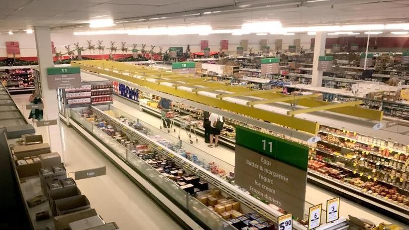 Stille Stunde: Wenn der Supermarkt auf leise stellt