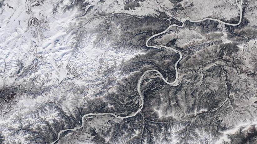 Satellitenbilder ausgewertet: Weniger Eis auf Flüssen durch Klimaerwärmung