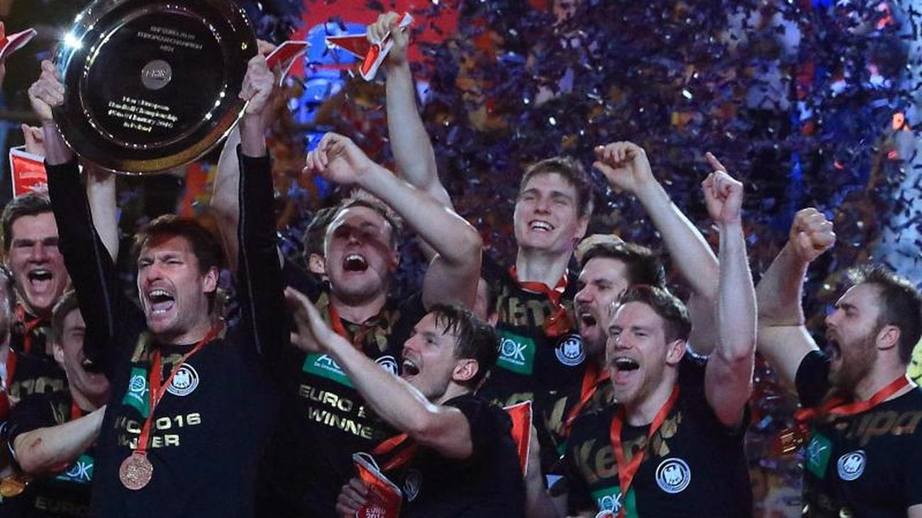 Handball European Championship Germany Wins Against Belarus