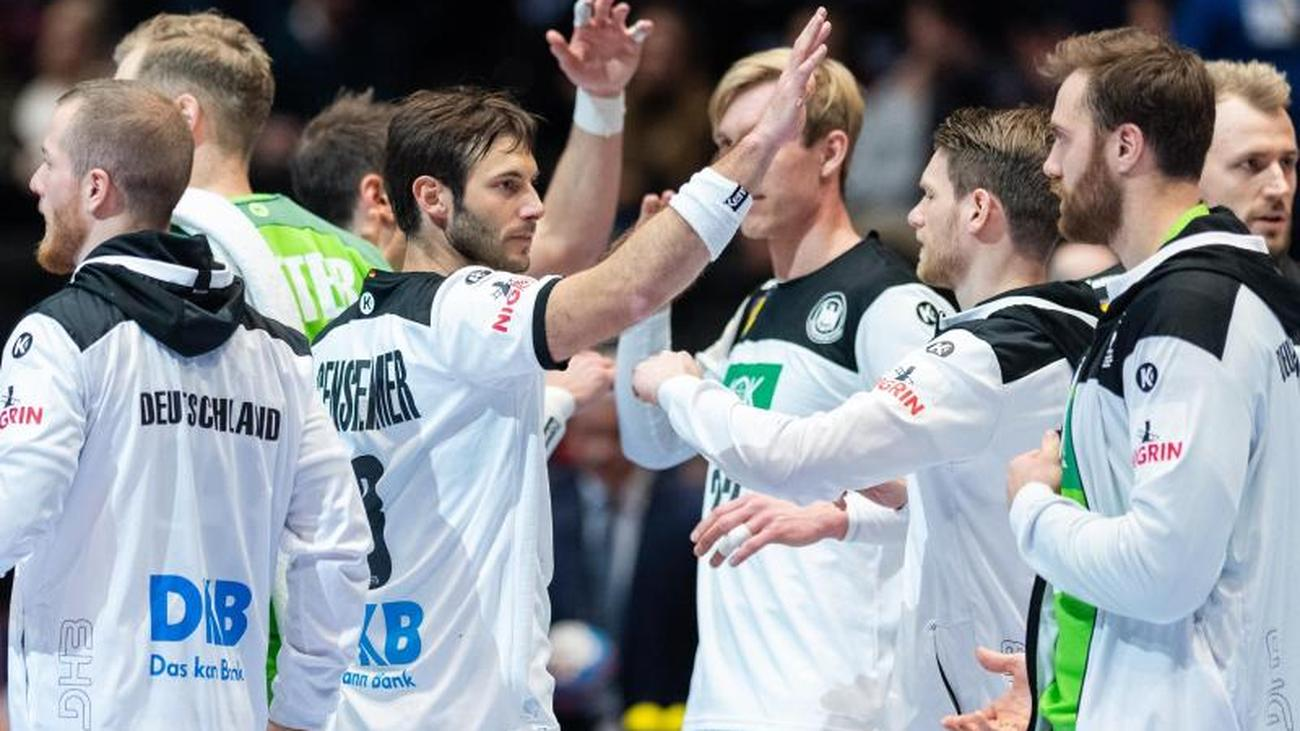 European Championship German Handball Players After