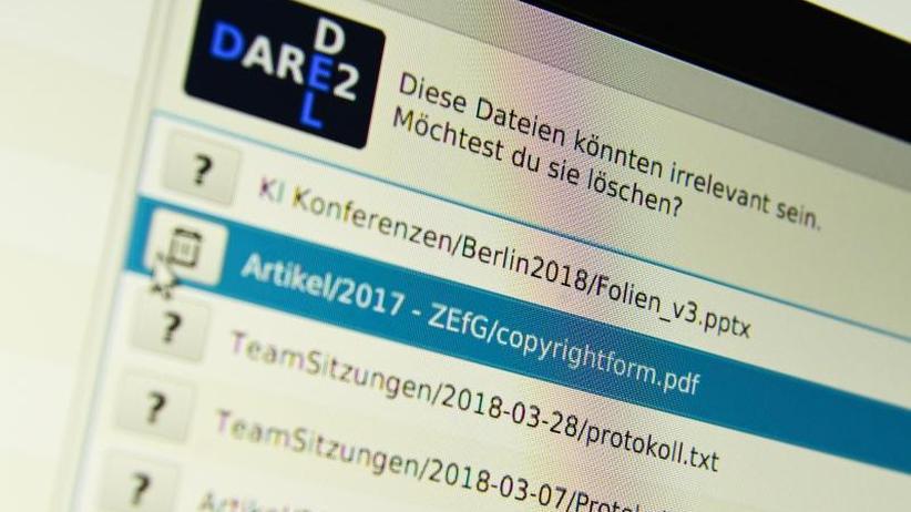 """Unnütze Dateien löschen: Künstliche Intelligenz soll """"Desktop-Messies"""" helfen"""
