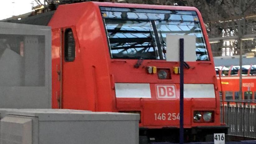 Zugunfall Frankfurt