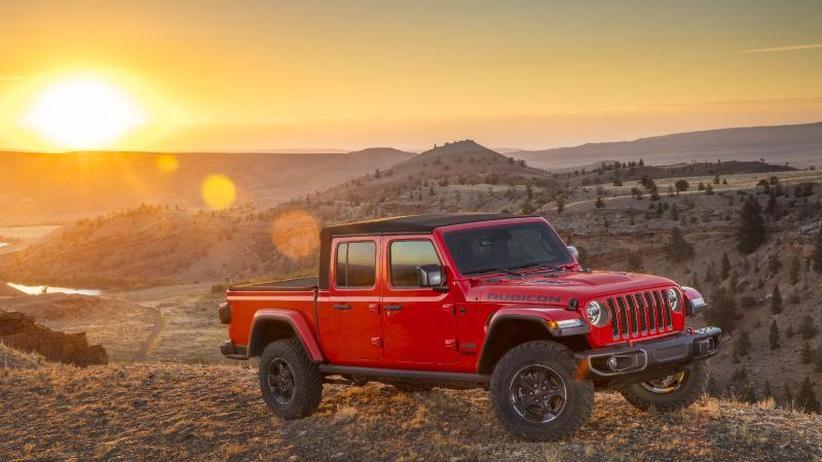 Testfahrt: Der Jeep Gladiator lohnt nur für Image und Gelände