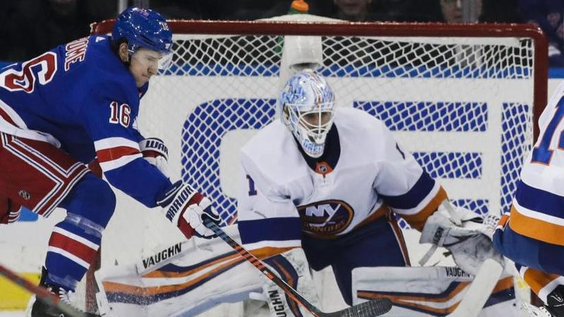 """NHL: Greiss mit starker Leistung im """"Battle of New York"""""""