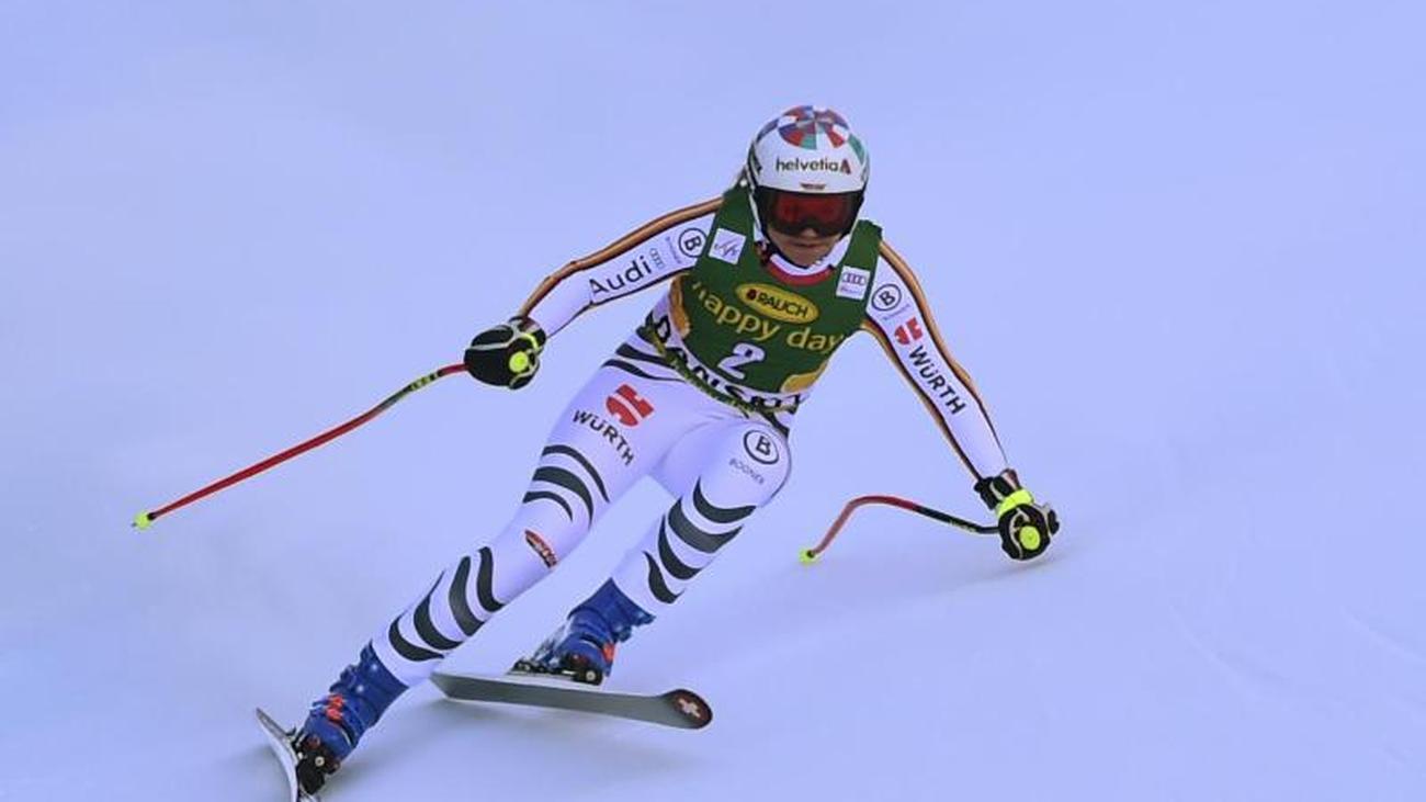 Ski alpin: Rebensburg mit zweitschlechtester Abfahrt des Winters