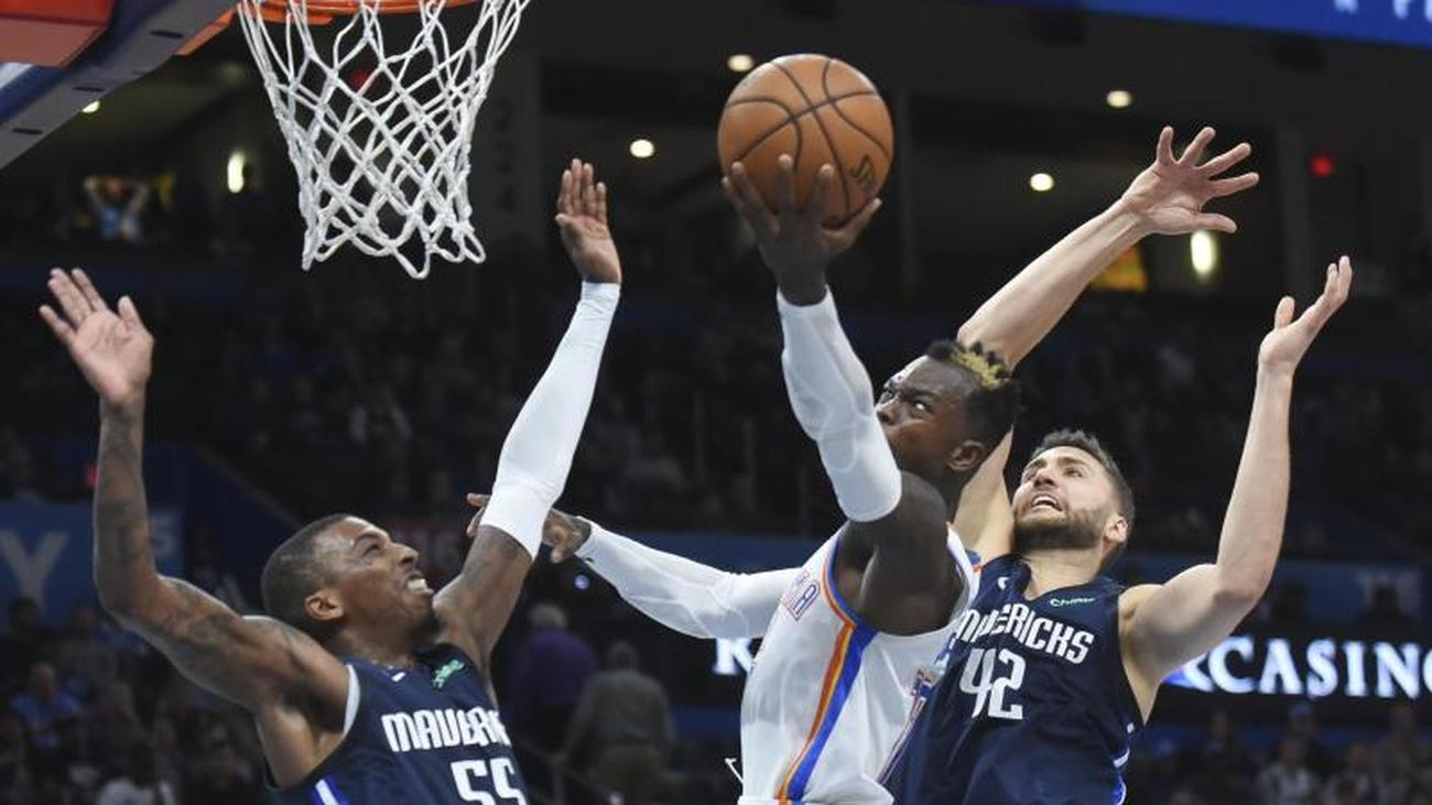 NBA: Paul fehlt wegen Bryant-Tod - Schröders Serie mit OKC reißt
