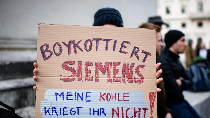 Klima: Proteste vor und in der Siemens-Hauptversammlung erwartet