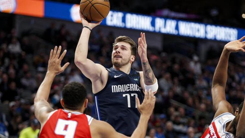 Basketball: NBA: Mavs-Sieg bei Doncic-Comeback - Washingtons Bonga stark