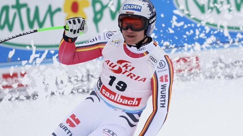 Ski Alpin: Dreßen erneut famos: Podiums-Erfolg bei umstrittenem Super-G