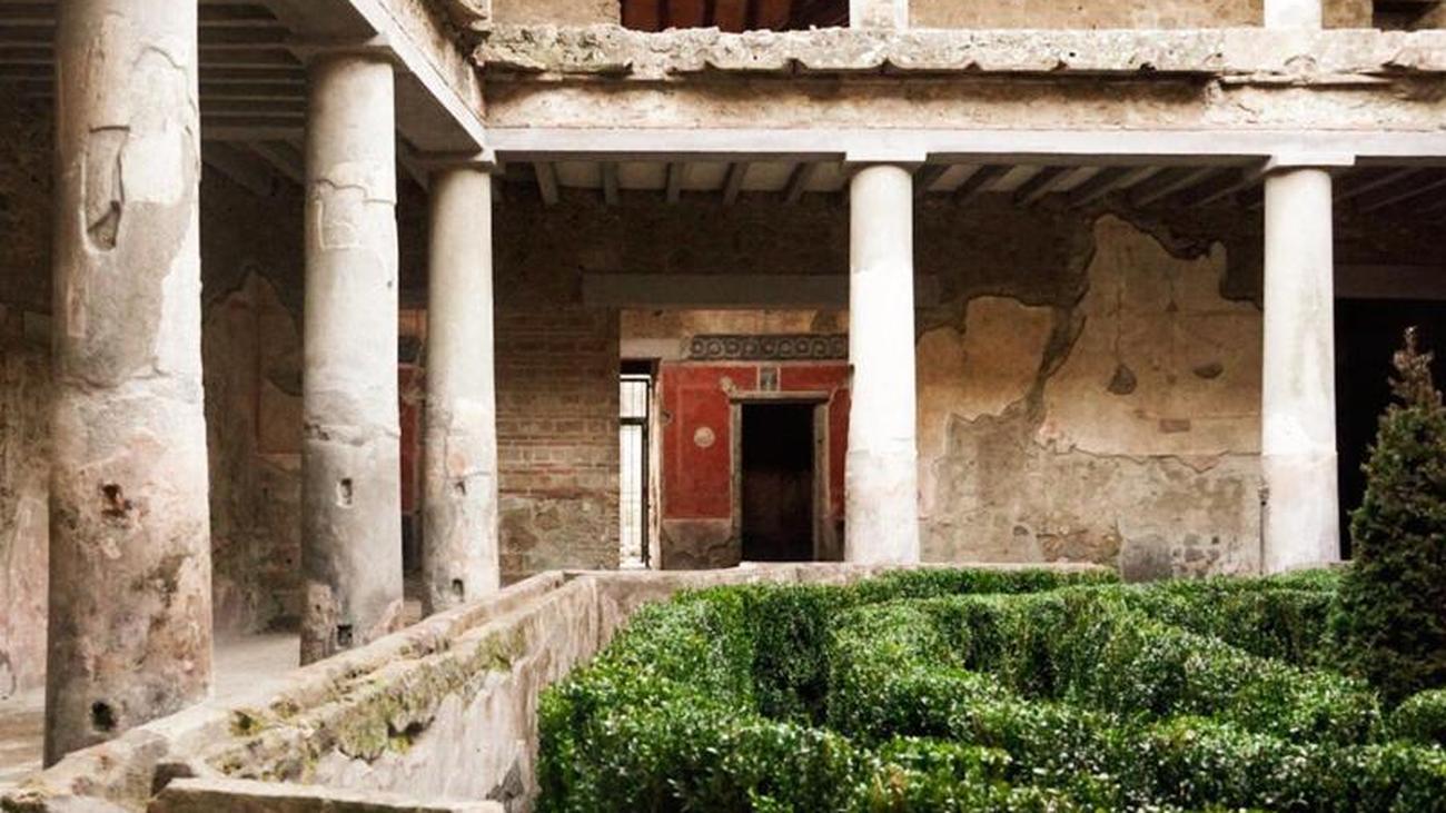 """Casa degli Amanti: """"Haus der Liebenden"""" in Pompeji wird geöffnet"""