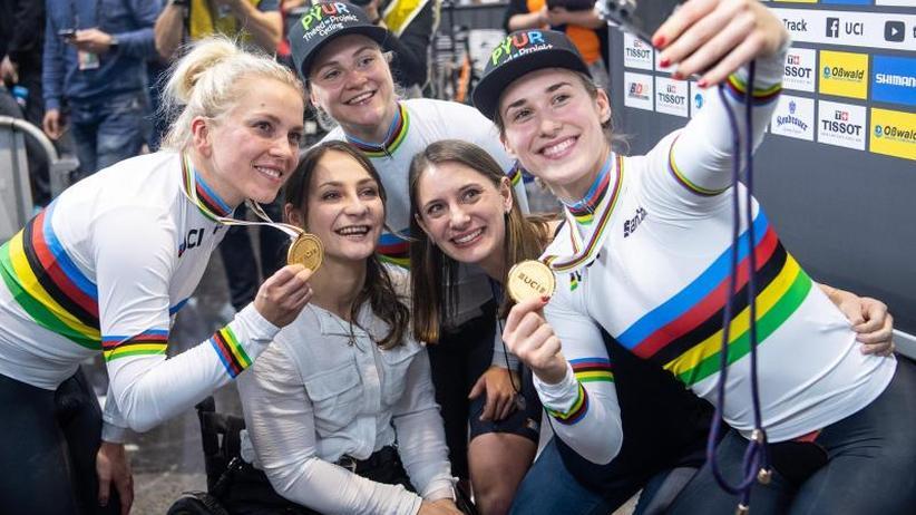 Bahnrad-Weltmeisterinnen: Hinze & Co. fahren aus dem Schatten von Vogel und Welte