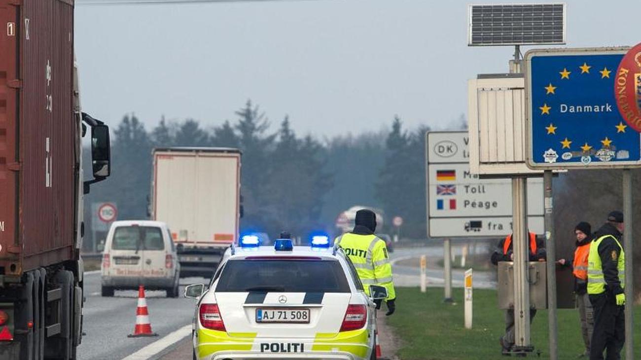 Grenzen Schließen Dänemark