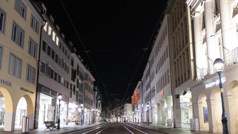Stadt Freiburg Ausgangssperre
