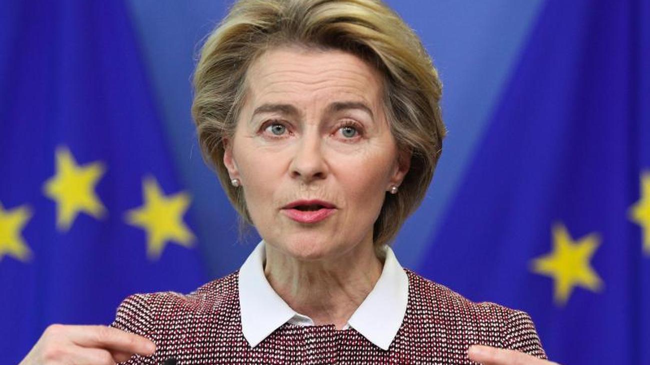 Streit schlägt hohe Wellen: Von der Leyen: EU-Kommission plant keine Corona-Bonds