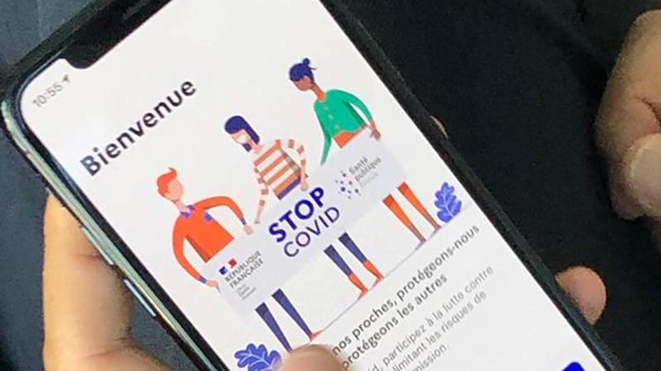 Corona Warn App Frankreich