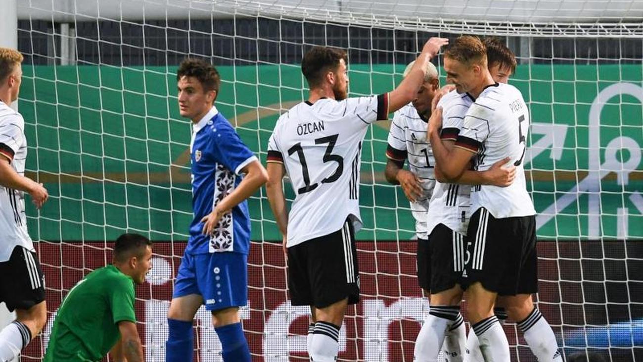 European Championship Qualification German U21 Leaders Again After Beating Moldova Teller Report